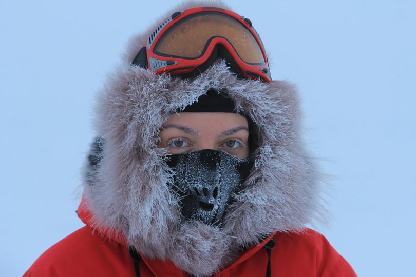Arctic Barneo camp