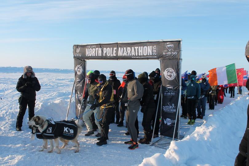 Barneo Arctic Camp marathon