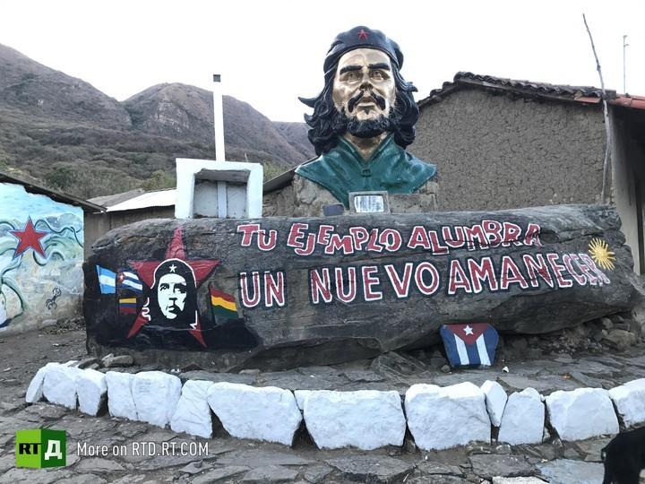 Last days of Che Gevara in Bolivia