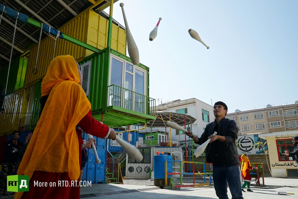 Cirque de Kabul . Afghan children find hope & the joy of childhood in a circus school