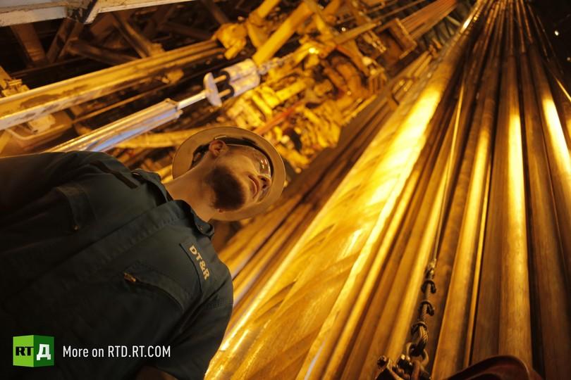 life on Arctic oil platform