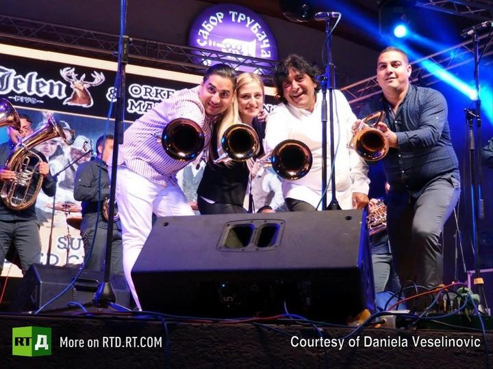 Guca trumpet festival
