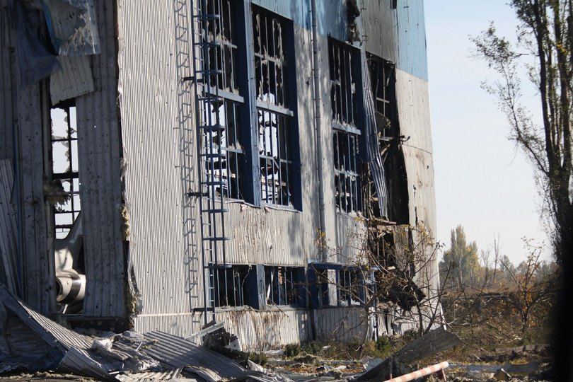 eye witness to Donbass Ukraine conflict