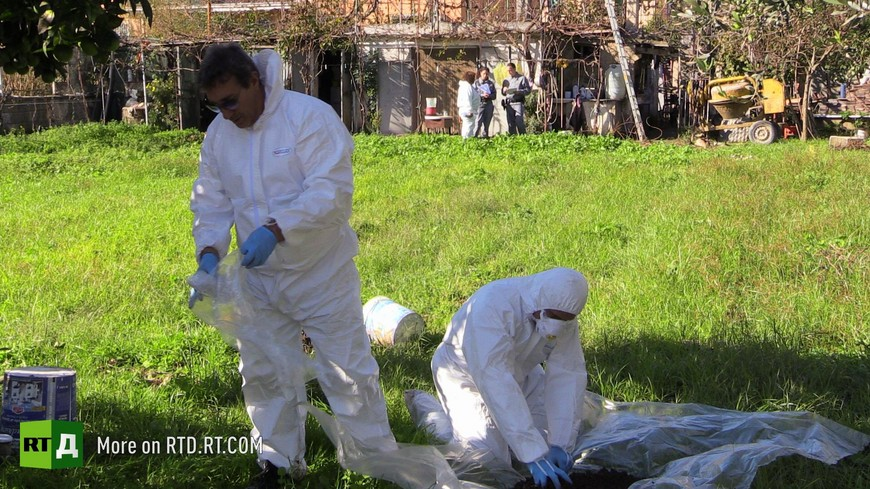 Campania toxic waste dumps