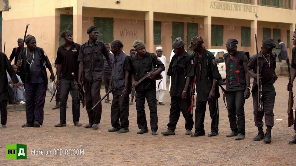 Hunters turned vigilantes fight off Boko Haram in Nigeria