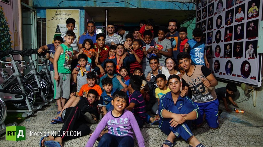 Iraqi Safe House for Creativity orphanage