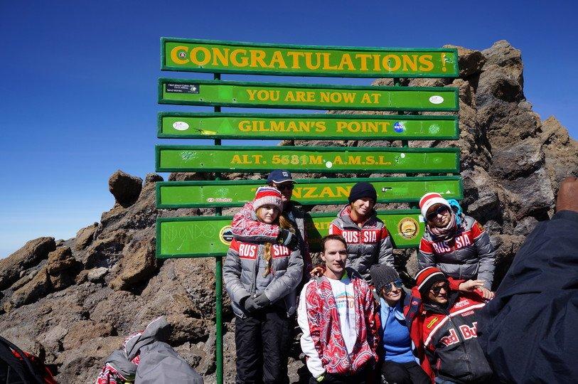 disabled men climb Kilimanjaro