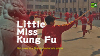 Little Miss Kung Fu. Girl power in a Shaolin martial arts school