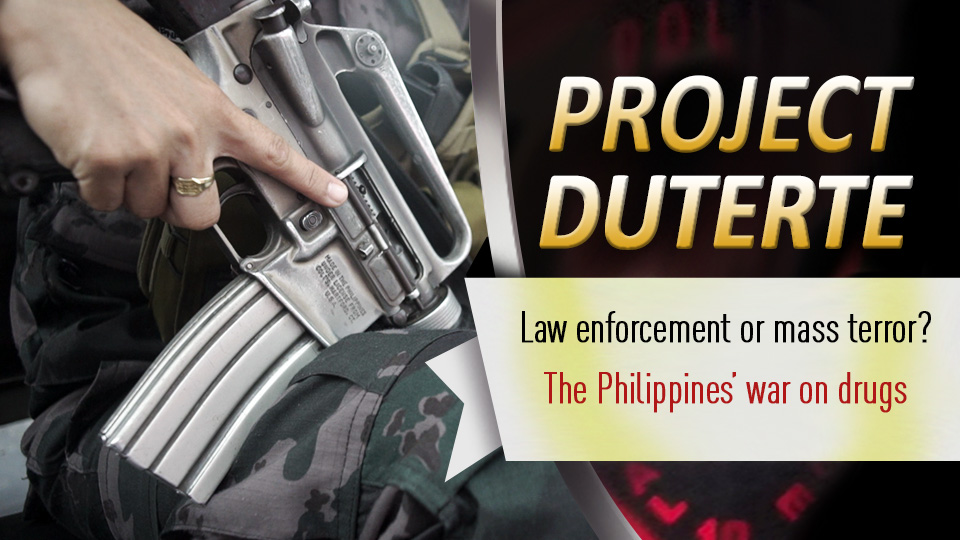 Project Duterte and the Philippines' war on drugs: law