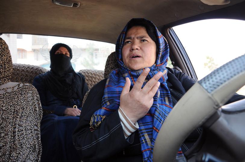 Sara Bohayi Afghanistan's woman taxi driver