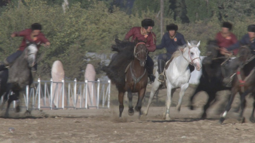 Kok boru Kirghizstan goat sport
