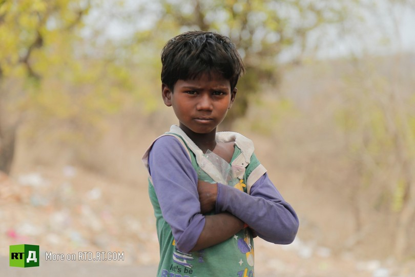 child labour mica India