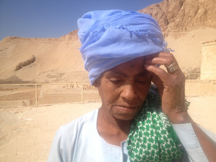 Egyptian woman living as a man
