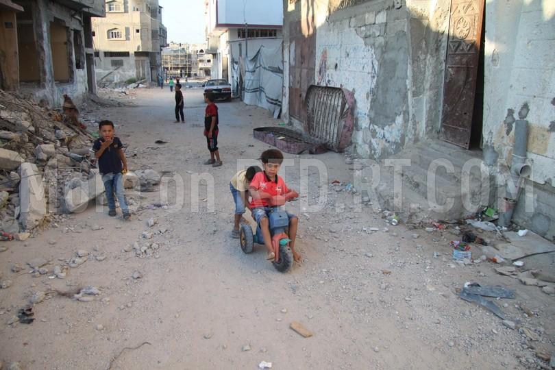 Gaza parkour free running