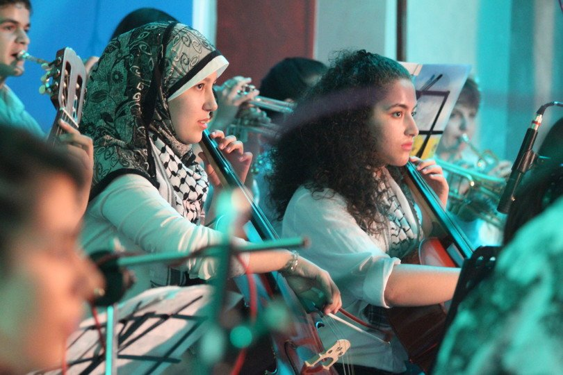 Gaza music school
