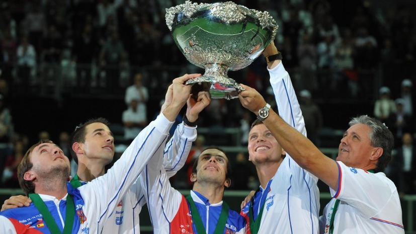 Сборная Чехии выиграла Кубок Дэвиса впервые за последние 32 года