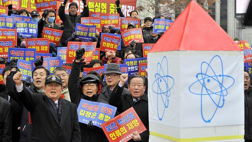 КНДР может спровоцировать извержение вулкана своими ядерными испытаниями
