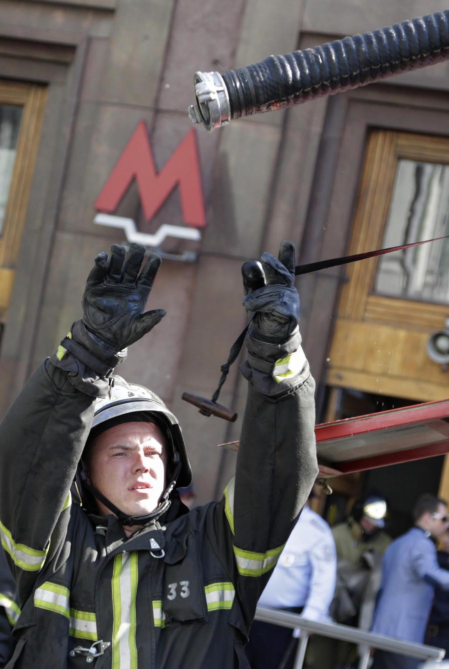 В Московском метро восстановлено движение поездов по Кольцевой линии