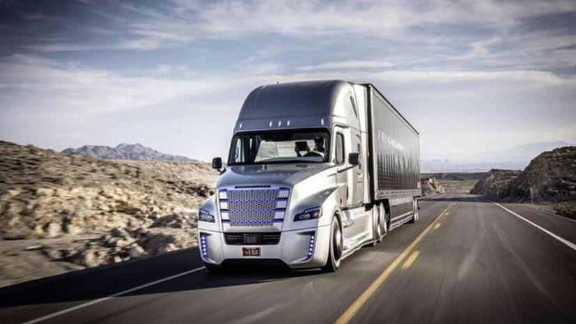 В США выпустили на дороги первый грузовик-беспилотник