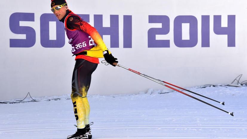 Российские олимпийцы одолжили сборной Германии устройство для подготовки лыж