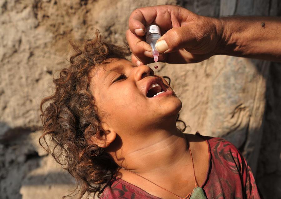 В Сирии проводится массовая вакцинация детей от полиомиелита
