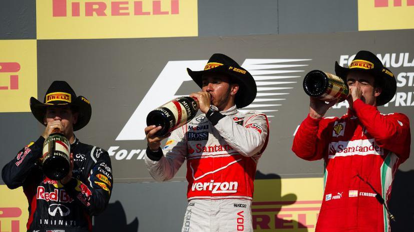 Себастьяну Феттелю остался всего один шаг до третьего подряд титула чемпиона мира