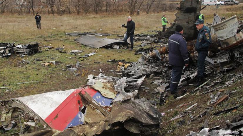 ДНР: Обломки разбившегося Boeing, которые не забрала Голландия, будут утилизированы