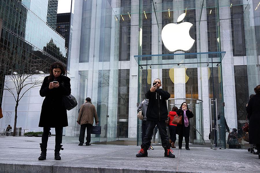 Apple стремительно теряет вес