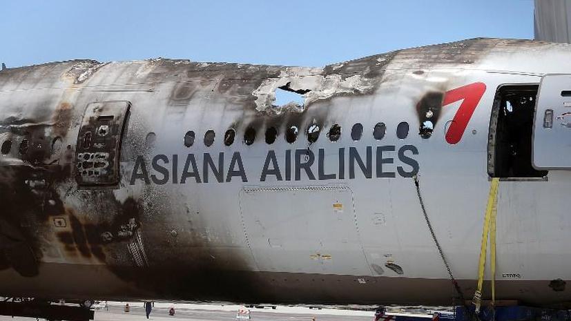 Пилоты разбившегося Boeing 777 госпитализированы с психологическими травмами