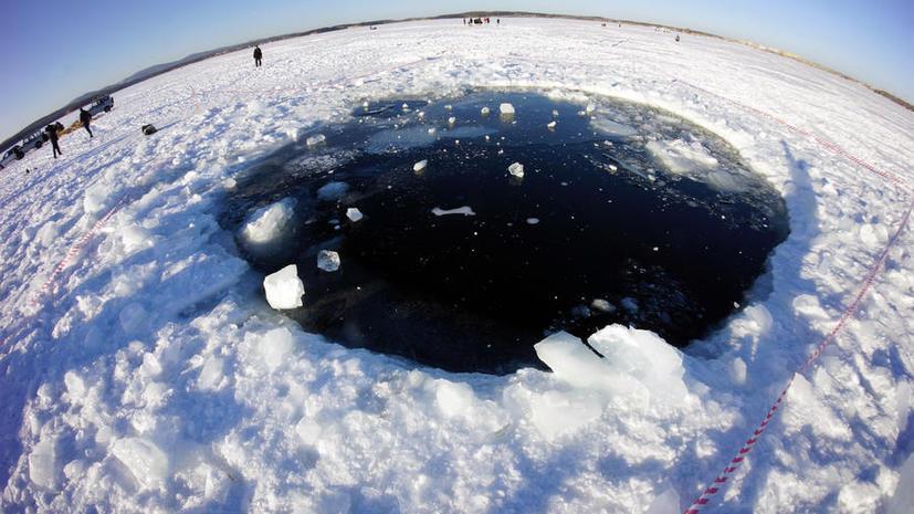 На дне озера Чебаркуль найден крупнейший осколок метеорита «Челябинск»