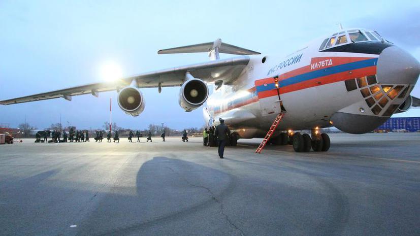 Спасатели МЧС РФ готовятся вылететь в Непал, где в результате землетрясения погибли 2,5 тыс. человек