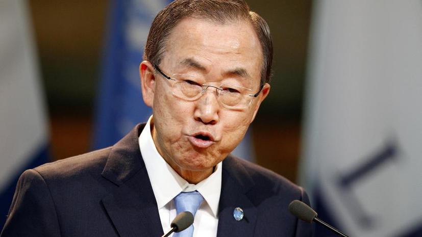 Пан Ги Мун: Анализ материалов, собранных экспертами ООН в Сирии, может занять 2 недели
