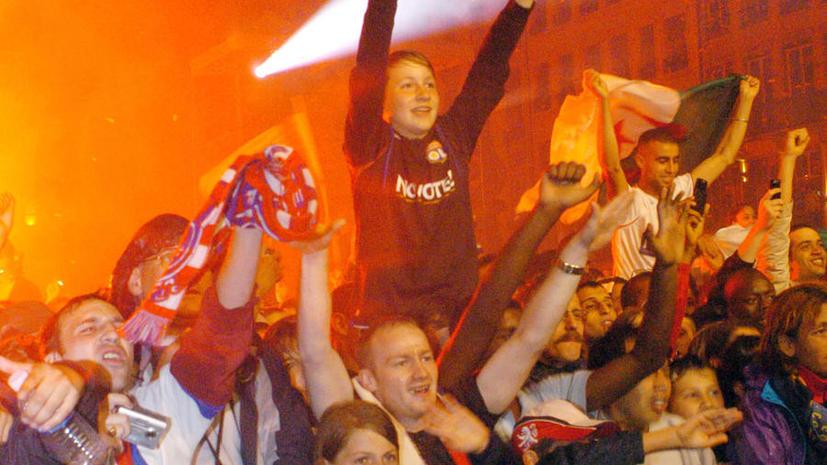 Власти Лиона запретили местным болельщикам приходить на матч