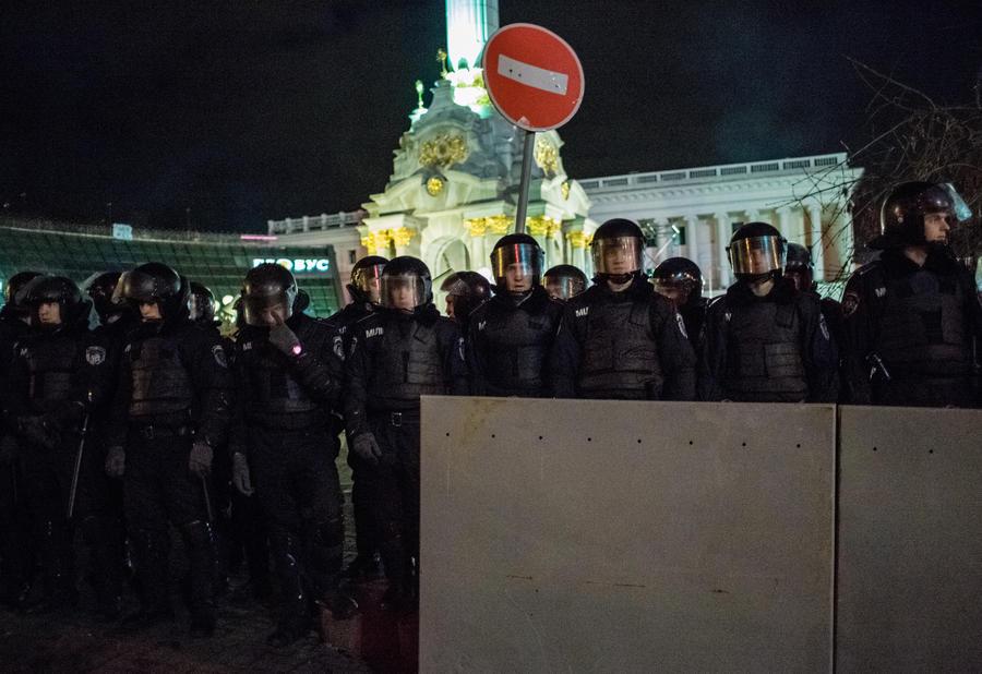 МВД Украины: Милиция допустила нарушение закона во время разгона демонстрантов