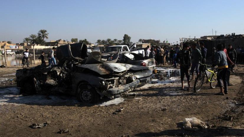 Теракт в иракской мечети, 35 погибших