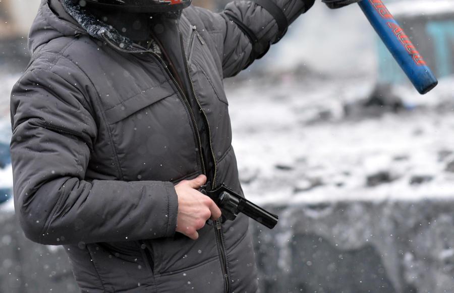 Ответственность за убийство милиционера в Киеве взяла на себя Украинская повстанческая армия
