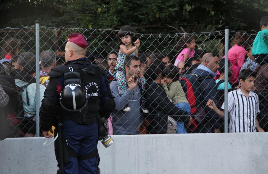 Власти Венгрии разрешили армии применять нелетальное оружие на границах страны