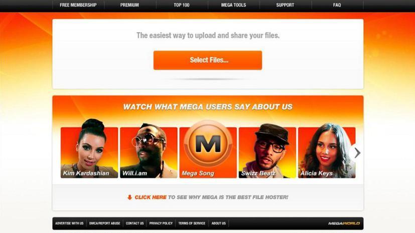 В Интернете запущен новый сайт файлообменника Megaupload