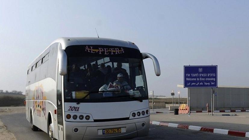 Израиль запустил автобусные рейсы «только для палестинцев»