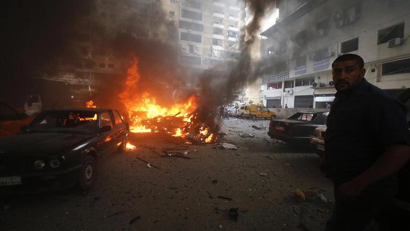 Боевики обстреляли президентский дворец и комплекс Минобороны в Ливане
