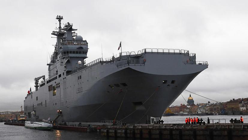 Французские корабли для российского флота лишатся баров и двухместных кают