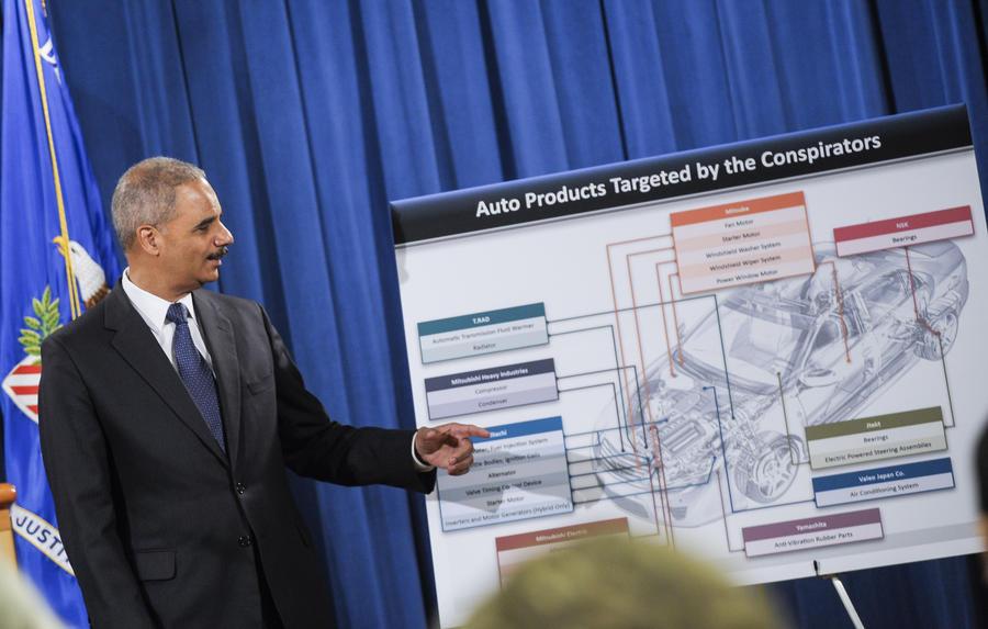 Японские компании-поставщики запчастей для автомобилей оштрафованы на $740 млн за ценовой сговор