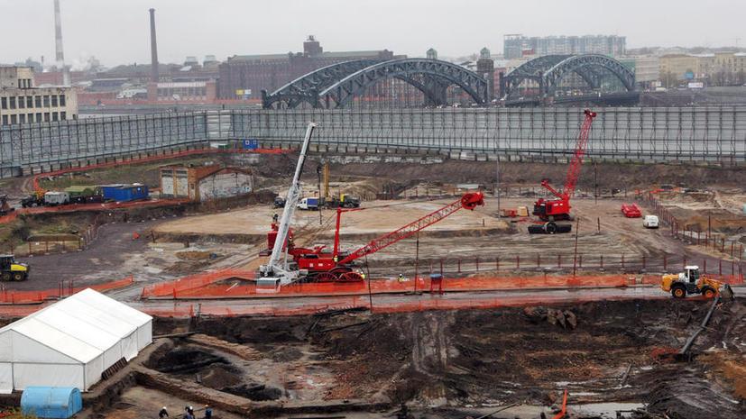 «Газпрому» запретили застраивать Охтинский мыс в Санкт-Петербурге