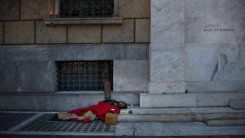 В Греции число самоубийств из-за экономического кризиса растёт