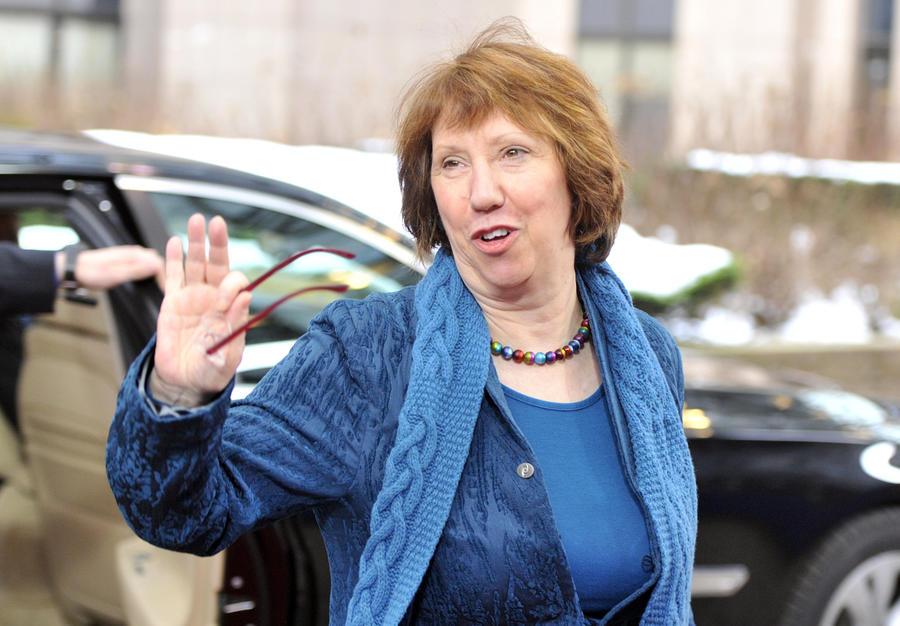 Глава европейской дипломатии Кэтрин Эштон не пойдет на второй срок