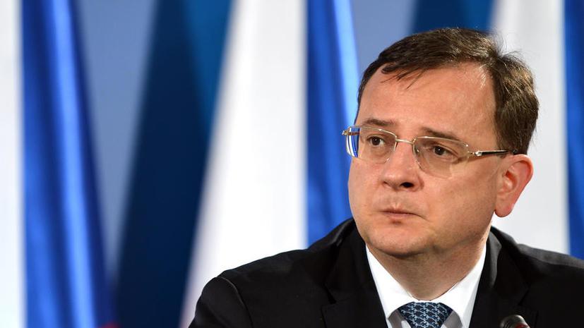Чешский премьер уходит из-за коррупционного скандала