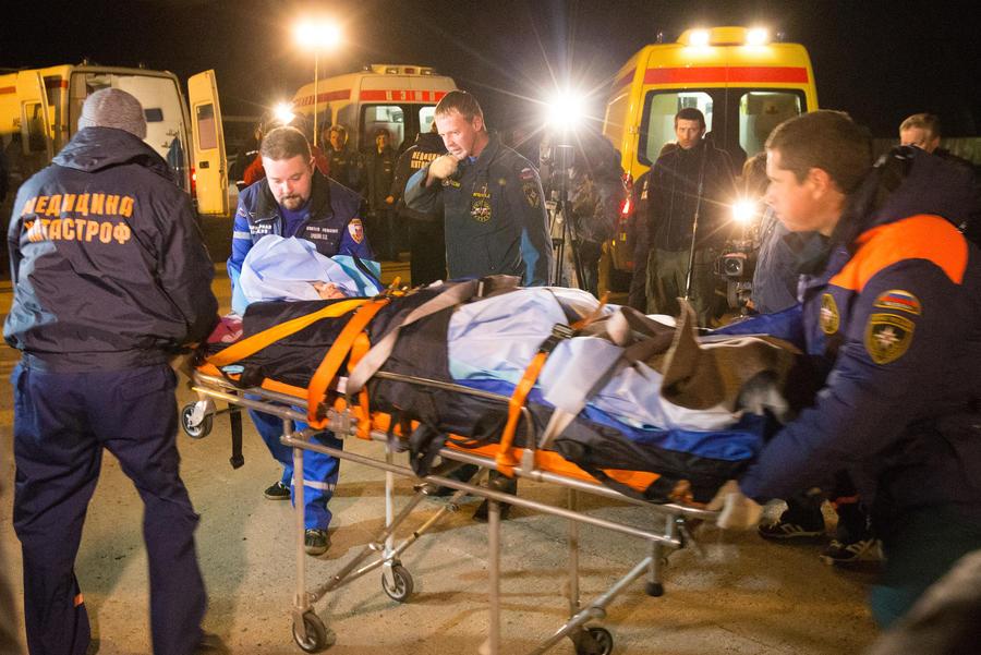 Число пострадавших во взорванном террористкой автобусе возросло до 55 человек