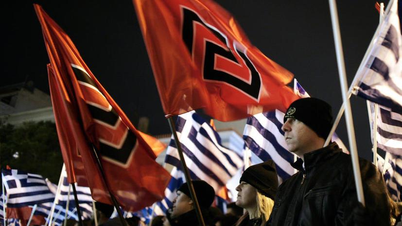 Неонацистская партия «Золотая заря» примет участие в выборах в Европарламент