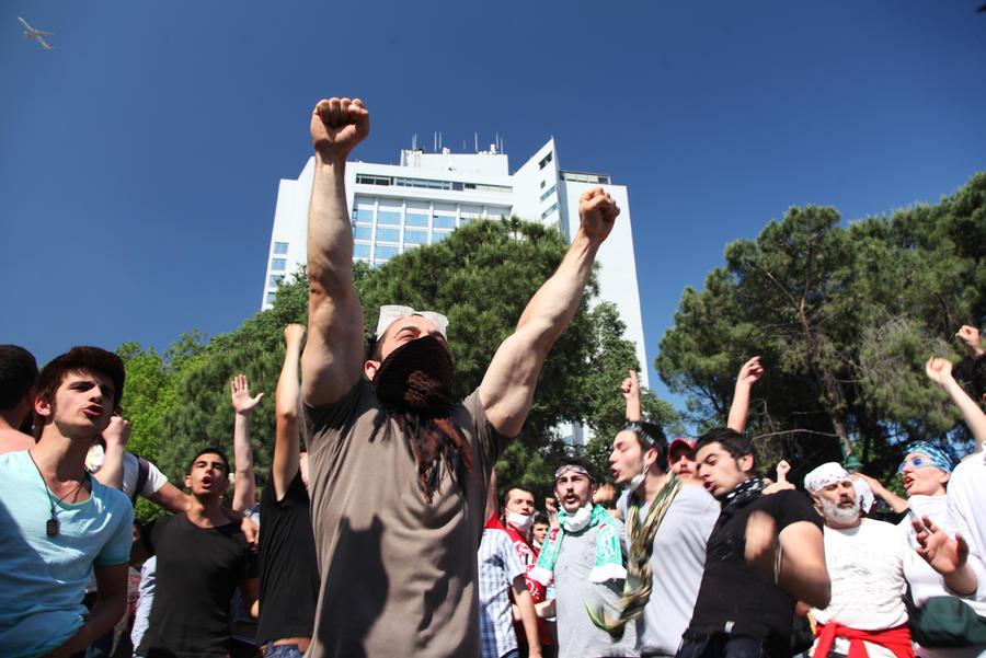 Власти Турции уступили манифестантам: деревья в парке Гези не будут вырубать