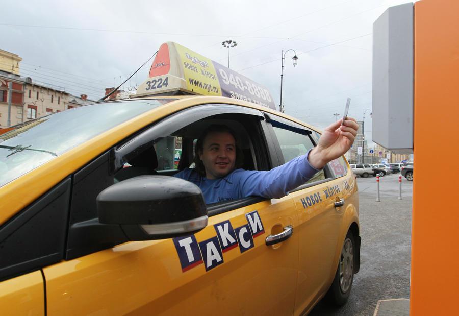 Такси с правым рулём исчезнут с улиц России